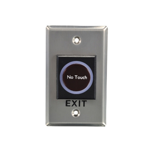 Infrared sensor door open button