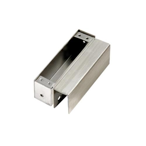 Zinc alloy glass door clamp