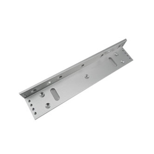 L-shaped bracket for magnetic lock